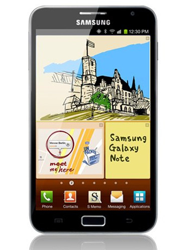 Samsung Note 1- N7000 Black/ White(Mới 100%) (2)