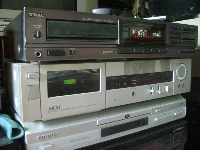 CDP Teac ZD 800 Made in Japan