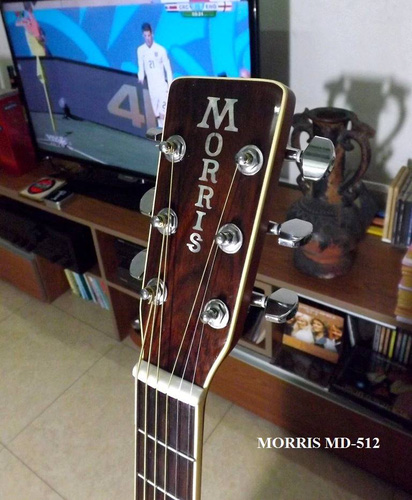 2 Guitar Acoustic MORRIS MD 512, giá 7.500.000đ