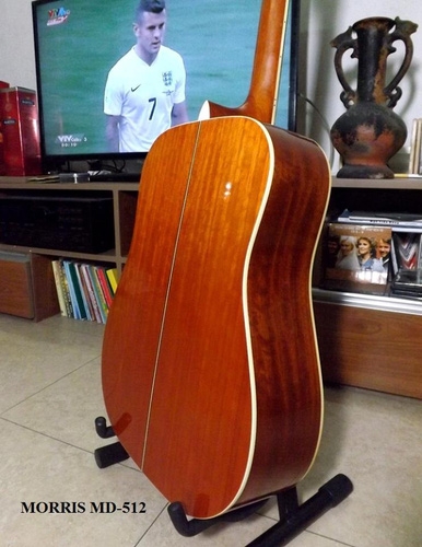 4 Guitar Acoustic MORRIS MD 512, giá 7.500.000đ